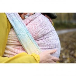 Yaro Ring Sling Galaxy Duo White Lights Rainbow