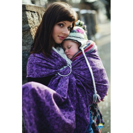 Little Frog Ring Sling Purple Glow