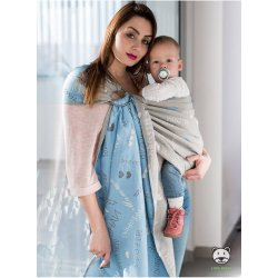 Luna Dream ring-sling Words Of Love Blue