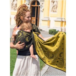 Luna Dream ring-sling Luna Black and Gold