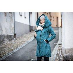 Angel Wings Kabát zimní - Tmavý tyrkys