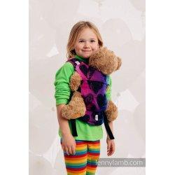 LennyLamb dětské nosítko pro panenky Lovka Pinky Violet