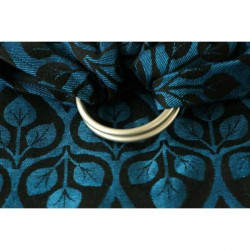 Yaro Ring Sling La Vita Blue-Black linen
