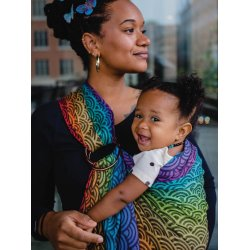 Oscha ring sling Elle Rainbows Need Rain