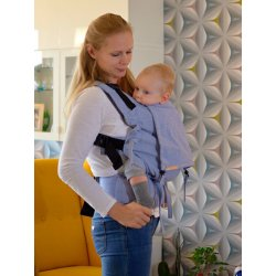 Andala ergonomical babycarrier Pure Azuro Slim