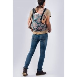 Isara adjustable ergonomic carrier The One - Kaleidoscopix Verdi