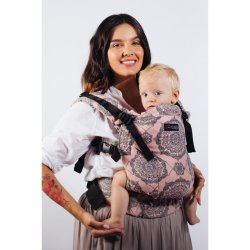 Isara adjustable ergonomic carrier The One - Kaleidoscopix Rosy