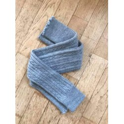 Baby leg warmers Loktu She - merino, Light grey