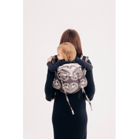 LennyLamb Onbuhimo back carrier Folk Hearts - Nostalgia