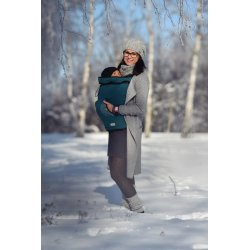 Angel Wings Babywearing Cover Dark green
