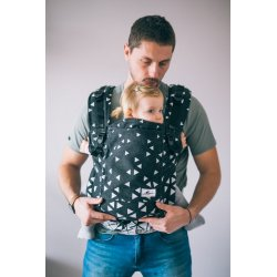 Lenka ergonomical babycarrier - 4ever - Triangel Black