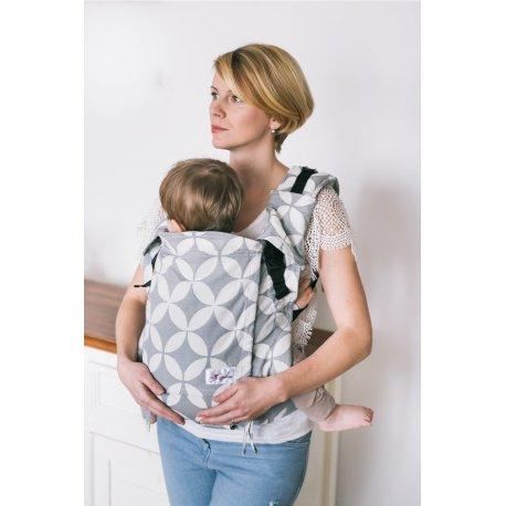 Lenka ergonomical babycarrier - 4ever - Grey Diamond