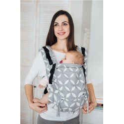 Lenka ergonomical babycarrier - 4ever - Classic Grey