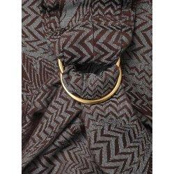 Oscha ring sling Zorro Chocomint