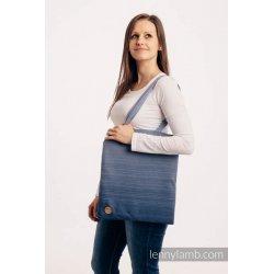 LennyLamb Bag Little Herringbone Ombre Blue