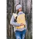 Lenka ergonomical babycarrier - 4ever - Folk - Yellow - for rent