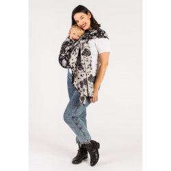ISARA ring sling - Philodendra Black Denim
