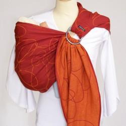 Didymos ring-sling Ellipses Red