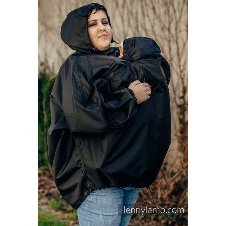LennyLamb Babywearing raincoat - black