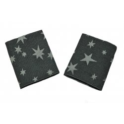 MoniLu Drool Pads Coal Stars