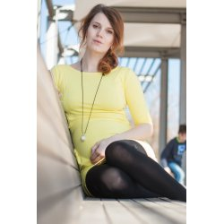 Angel Wings Dress Yellow