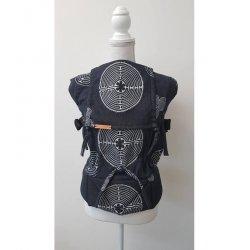 Andala ergonomical babycarrier Labyrint Black