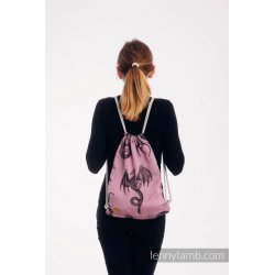 LennyLamb Bag SackPack Dragon - Dragon Fruit