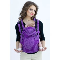 Diva Milano adjustable babycarrier - Diva Essenza - The One! - Viola Linen
