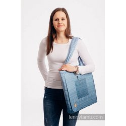 LennyLamb Shoulder Bag - Big Love - Ombre Light Blue