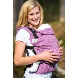 MoniLu ergonomic babycarrier UNI (Adjustable) Passiflora