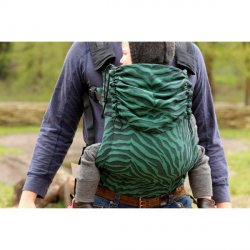 Yaro ergonomic carrier Set Tiger Black Green