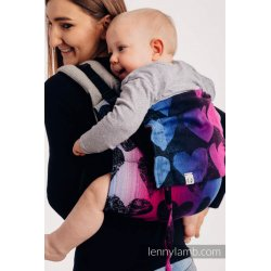 LennyLamb Onbuhimo back carrier - Choice - Lovka Pinky Violet