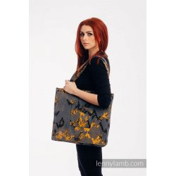 LennyLamb Shoulder Bag - WAWA - Grey & Mustard