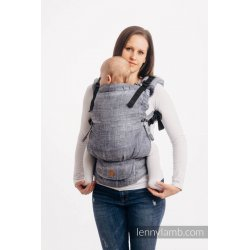 LennyLamb LennyUpGrade adjustable ergonomic carrier - Denim Blue