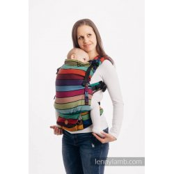 LennyLamb LennyUpGrade adjustable ergonomic carrier - Carousel Of Colors
