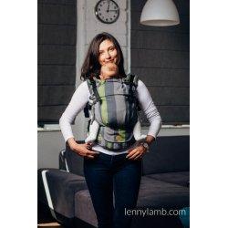 LennyLamb LennyUpGrade adjustable ergonomic carrier - Smoky Lime