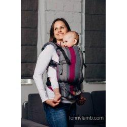 LennyLamb LennyUpGrade adjustable ergonomic carrier - Smoky Fuchsia