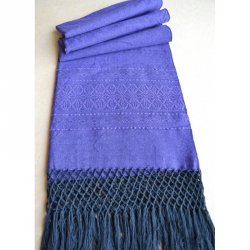 Indajani Rebozo Zapotec Purple