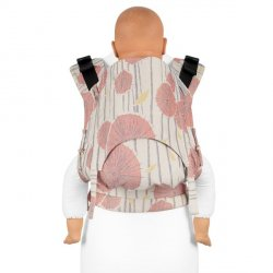 Fidella Fusion babycarrier with buckles - Tokyo coral
