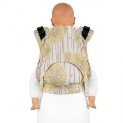 Fidella Fusion babycarrier with buckles - Tokyo yellow