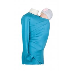 Angel Wings summer Wrap Sweater turquoise (bamboo)