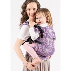 Isara adjustable ergonomic carrier The One - Lilac Glow