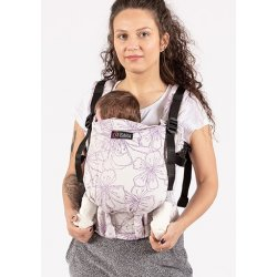 Isara adjustable ergonomic carrier The One - Crystal Glow
