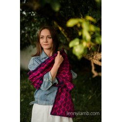 LennyLamb Shawl made of Amaryllis Petals wrap fabric
