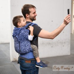 BabyMonkey ergonomic carrier Agilo Affresco Adda