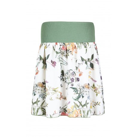 Angel Wings Skirt - White meadow