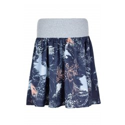 Angel Wings Skirt - Grey orchid