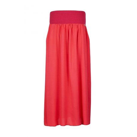 Angel Wings Skirt - Long red