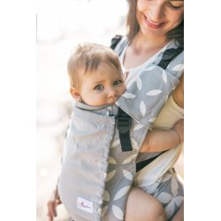 Lenka ergonomical babycarrier - 4ever - Classic Grey - light grey mesh