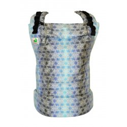 MoniLu ergonomic babycarrier UNI (Adjustable) FlowerField Night 2